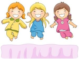 3 girls pajama