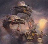 3 Headed dragon smoking