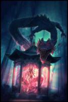 Chinese dragon lady