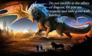 Dragon food