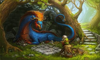dragon & gnome