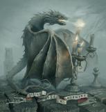 Dragon lighting candles