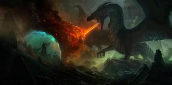 Dragon vs Necromancer