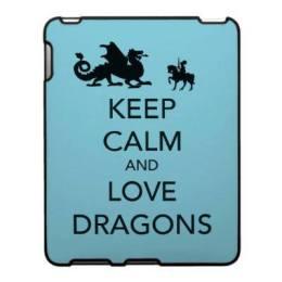 keep calm and love dragons