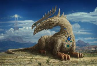 Sphinx dragon