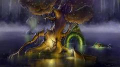 Tree and dragon